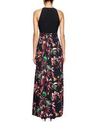 Proenza Schouler - Blue Tropical-print Sleeveless Maxi Dress - Lyst