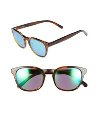 Randolph Engineering | Brown 'ashby' 50mm Sunglasses for Men | Lyst