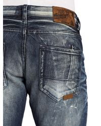 PRPS - Blue Shining Wall Faded Straightleg Jeans for Men - Lyst