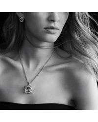 David Yurman - Purple Labyrinth Earrings with Amethyst and Diamonds - Lyst