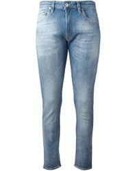 Love Moschino | Blue Skinny Jeans for Men | Lyst