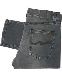Nudie Jeans Gray Lean Dean Denim Jeans - Mono Grey 112778 for men