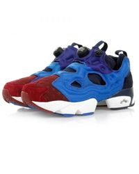 38f43759354 Lyst - Reebok Instapump Fury Asym Blue Shoes V67792 in Blue for Men