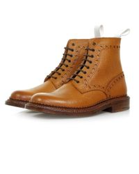 GRENSON | Brown Neighborhood X Charles Tan Leather Boot 110939 for Men | Lyst