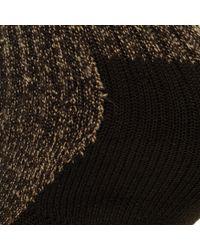 Red Wing Deep Toe Capped Wool Brown Socks for men