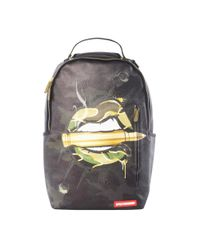 Sprayground Multicolor Army Lips Backpack for men