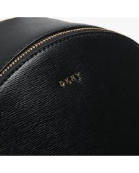 DKNY Black Bryant Sutton Medium Backpack