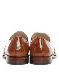 Daniel - Brown Henstridge Tan Leather Plain Loafer for Men - Lyst