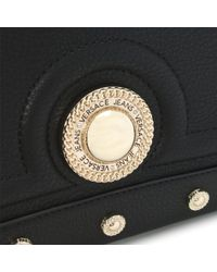 Versace Jeans Annie Black Studded Tote Bag