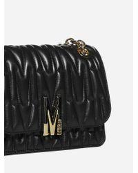 Borsa M medium in pelle matelasse' di Moschino in Black