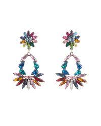 DANNIJO | Multicolor Cabella Drop Earrings | Lyst