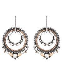 DANNIJO | Metallic Chandra Earrings | Lyst