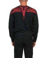 Marcelo Burlon Black 'saquin' Sweatshirt for men