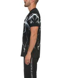 Marcelo Burlon Black 'telgo' T-shirt for men