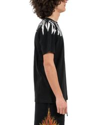 Marcelo Burlon - Black 'county Wing' T-shirt for Men - Lyst