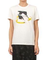 """Off-White c/o Virgil Abloh White """"woman"""" Cotton Jersey T-shirt"""