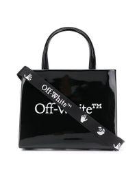 Borsa Box Mini di Off-White c/o Virgil Abloh in Black