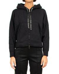 Moncler Black Cotton Blend Sweatshirt