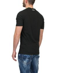 DSquared² Black 'bootboy Canten Twins' T-shirt for men