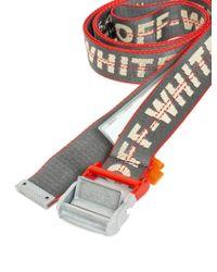 Off-White c/o Virgil Abloh Multicolor 'industrial ' Belt for men