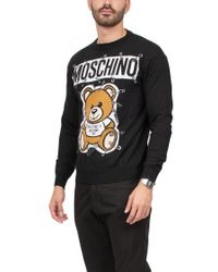 Moschino Black 'teddy Bear' Sweater for men
