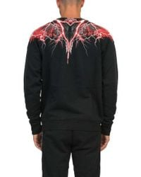 Marcelo Burlon Black 'worr' Sweatshirt for men