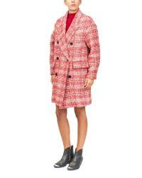 Étoile Isabel Marant Red Wool Blend Coat