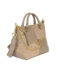 BORSA A SPALLA MEDIA EMY di See By Chloé in Gray