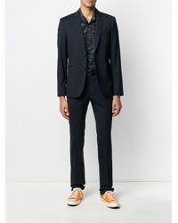 PS by Paul Smith Blue Tailored Suit for men