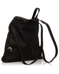 Armani Jeans - Black Bubble Leather With Zippers - Lyst