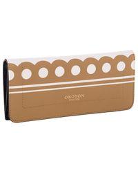 Oroton - Multicolor Sydney Dots Clutch Wallet - Lyst