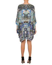 Camilla Multicolor Weave Humanity Bat Sleeve Dress