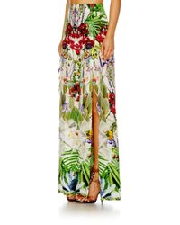 Camilla Green Exotic Hypnotic Waisted Wide Leg Trouser