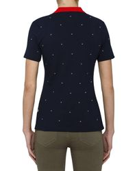 Tommy Hilfiger - Blue Otina Emb Logo Polo S/s for Men - Lyst