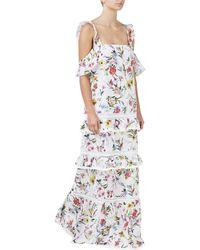 Nicholas White Maxi Dress