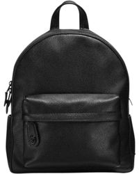 COACH - Black Campus Backpack - Lyst