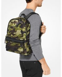Michael Kors Multicolor Mk Kent Camouflage Backpack