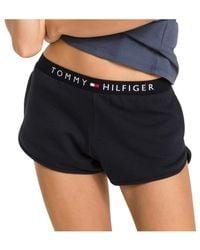 Tommy Hilfiger - Blue Logo Short - Lyst