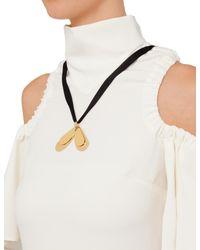 Ellery White Deity Dress With Necklace