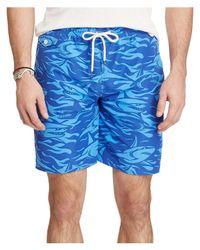 Polo Ralph Lauren | Blue 8¿-inch Traveler Swim Trunk for Men | Lyst