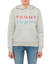 Tommy Hilfiger - Blue Tjw Clean Logo Hoodie - Lyst