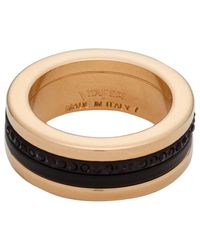 Vita Fede - Black Audra Two-tone Crystal Ring - Lyst
