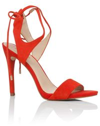Guess | Orange Christa Sandal Pumps | Lyst