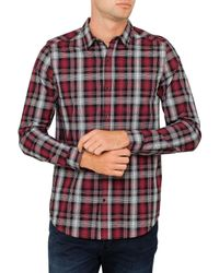 9c6b189b1e Neuw Ldr Check Shirt in Red for Men - Lyst