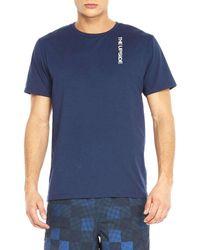The Upside | Blue Back Line Tee for Men | Lyst