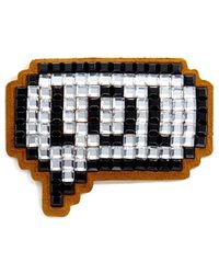 Anya Hindmarch | Stickers Lol In White Crystals | Lyst