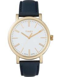 Timex | Weekender Blue Gld Maroon | Lyst