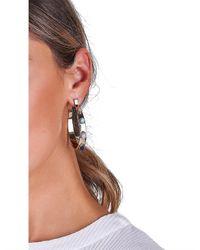 Samantha Wills Metallic Oasis Hoop Earrings