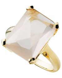 Jan Logan | Multicolor 9ct Rose Quartz Sunset Ring | Lyst