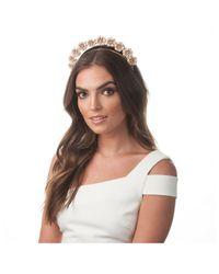Olga Berg - Multicolor Amara Enamel Flower Headband - Lyst
